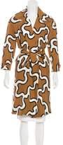 Diane von Furstenberg Clean Margee Silk Coat