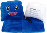 Trendy Kid Travel Buddies Snoozy Blanket and Pillow Set - Rusty Robot
