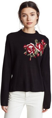 Cupcakes And Cashmere Women's Starla Bell Sleeve Sweater