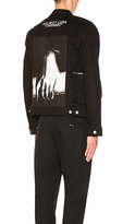 Helmut Lang Hand Zip Denim Jacket.