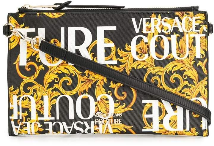 b02fdd01f0 Baroque print clutch bag