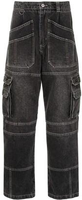 Ground Zero Cargo Loose Jeans