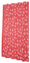 Carnation Home Fashions Vienna 70-Inch by 72-Inch Shower Curtain with Flocking