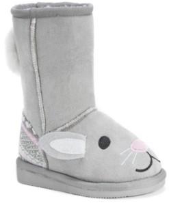 Muk Luks Muk Luk Kid's Bonnie Pink Bunny Boots