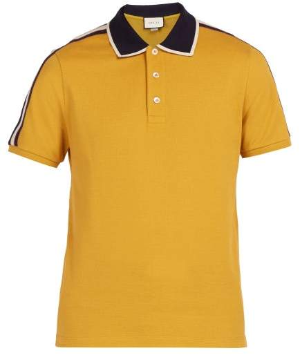 486a5087c30 Gucci Yellow Men s Shirts - ShopStyle