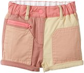 Stella McCartney Joe Colorblock Shorts (Baby) - Pink-24 Months