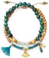 Chan Luu Turquoise Mix Bracelet, Set of 2