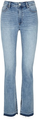 Paige Cindy light blue straight-leg jeans