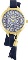 SO & CO Decree Womens Black Strap Watch-Pt2371gdbk