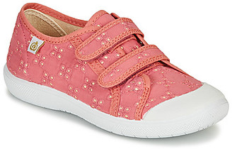 Citrouille et Compagnie MELVINA girls's Shoes (Trainers) in Pink