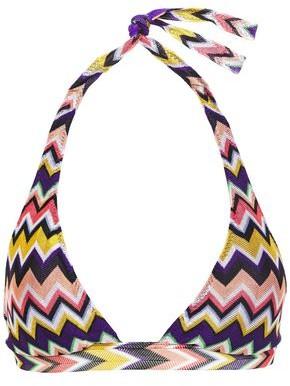 Missoni Mare Crochet-knit Halterneck Bikini
