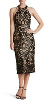 Dress the Population Women's Cassie Sequin Midi Dress