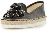 Dorothy Perkins Womens *Head Over Heels by Dune Black 'Enista' Flat Shoes- Black