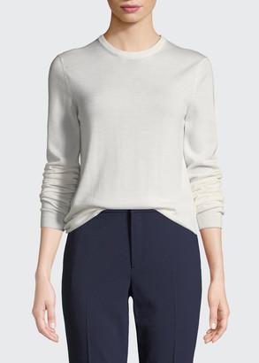 Ralph Lauren Crewneck Long-Sleeve Cashmere Sweater