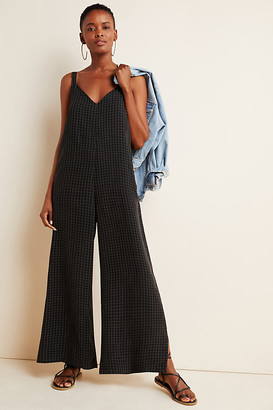 d.RA Checked Layering Jumpsuit By in Assorted Size XS