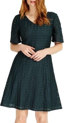Studio 8 Tess Dress, Dark Green