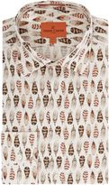Simon Carter Feather Print Shirt