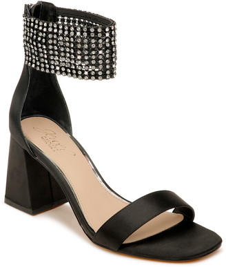 Badgley Mischka Fennella Crystal Embellished Sandal