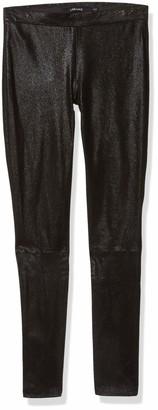 J Brand Jeans Women's Edita Suede Leather Legging