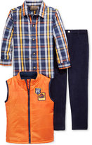 Nannette Little Boys' 3-Pc. Vest, Shirt & Pants Set
