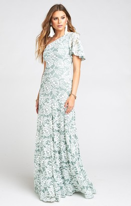 Show Me Your Mumu Portia One Shoulder Maxi Dress