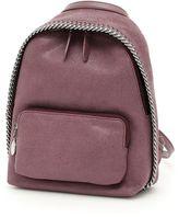 Stella McCartney Shaggy Deer Mini Falabella Backpack