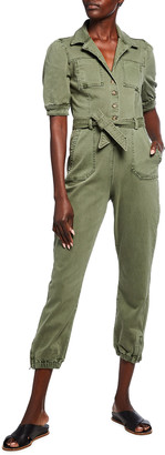 Paige Mayslie Belted Utility Jumpsuit