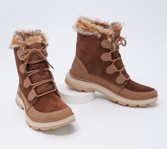 Ryka Water-Repellent Faux Fur Winter Boots - Briella