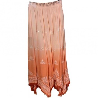 Anthropologie \N Orange Skirt for Women