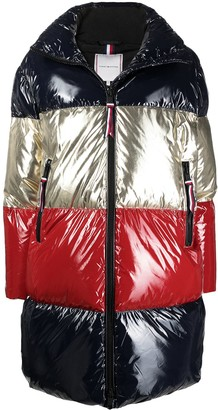 Tommy Hilfiger Colour Block Padded Coat