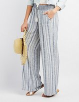 Charlotte Russe Smocked Palazzo Pants