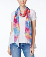 INC International Concepts Hibiscus Garden Scarf, Created for Macy's
