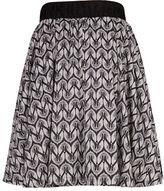 Melissa McCarthy Plus Printed A-Line Skirt