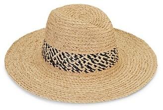 Hat Attack Adventure Continental Raffia Panama Hat