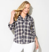 Avenue Plaid Pocket Shirt