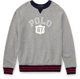Ralph Lauren 8-20 Cotton Graphic Sweatshirt