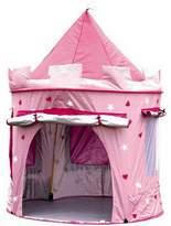 Little Ella James Deluxe Pink Castle Play Tent