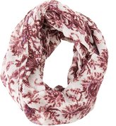 Charlotte Russe Paisley Infinity Scarf