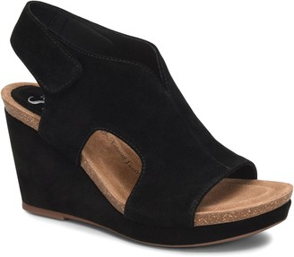 Sofft Suede Wrapped Wedges - Chloee