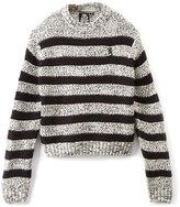 English Laundry Black & Gray Stripe Sweater - Boys