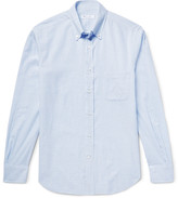 Loro Piana - Alfred Button-down Collar Checked Brushed-cotton Shirt