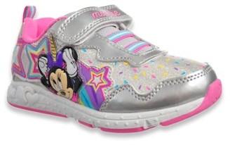 Josmo Disney Minnie Mouse Disney Minnie Mouse Unicorn Magic Velcro Strap Athletic Sneaker (Toddler Girls)