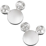 Disney Mickey Mouse Icon Crystal Ear Earrings by Arribas