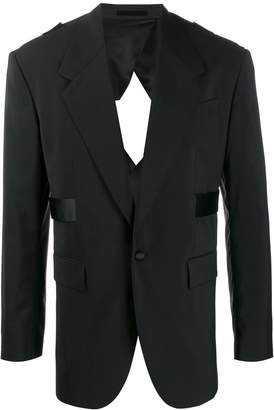 Versace cut-out blazer