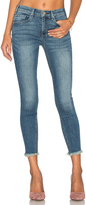 MCGUIRE Newton Unfinished Hem Crop Skinny