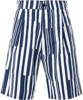 Sunnei multi stripe shorts