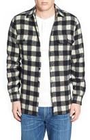 Woolrich Men's Buffalo Plaid Wool Blend Flannel Shirt