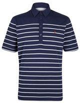 Burton Mens Farah Navy Jersey Striped Polo Shirt*