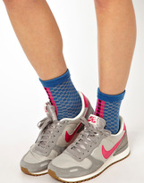 Eley Kishimoto Blue Checkerboard Ankle Sock - Blue