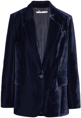 Stella McCartney Oversized Velvet Blazer